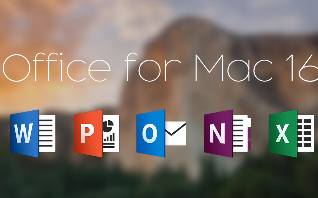 mac office 2016 torrent