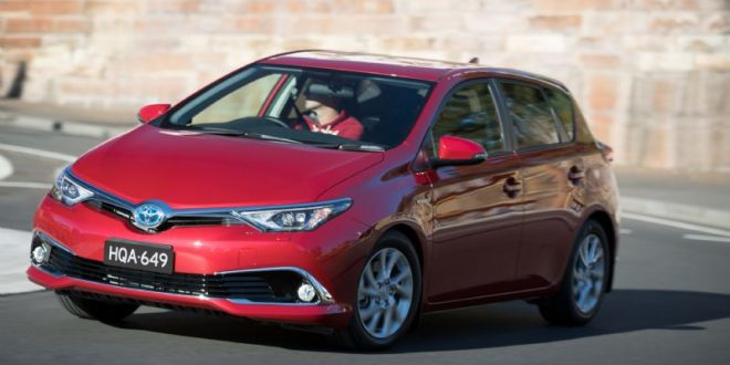 Toyota Corolla Hybrid A Dedicated Model Interllectual Technology Blogger Reviewer