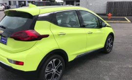 Chevy Bolt EV 2019