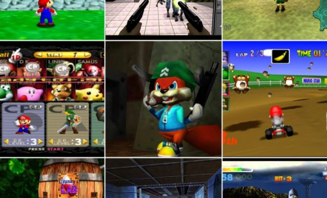 10 Old Video Game Classics