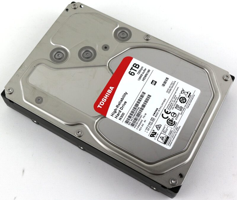 Toshiba 6TB HDDs