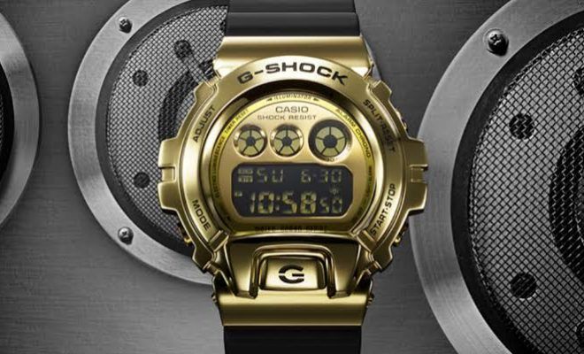 Casio G GM6900G-9