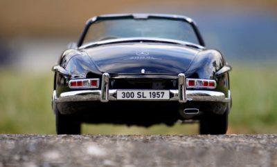 Mercedes Benz Black Convertible Classic Car