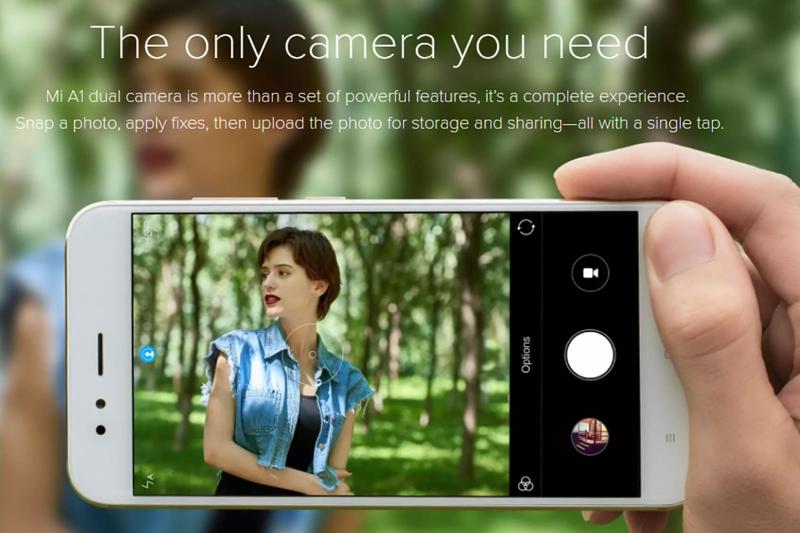 Xiaomi Mi A1camera